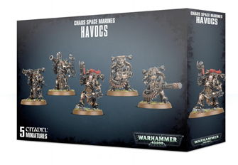 Warhammer 40,000 Chaos Space Marines Havocs