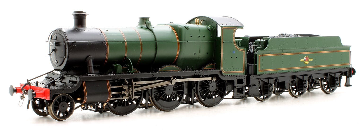 Class 43xx Mogul 2-6-0 in BR lined Green with Late Crest No.4377