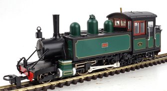 Lynton & Barnstaple Baldwin 2-4-2T SR Dark Green E762 Lyn (1923-29)