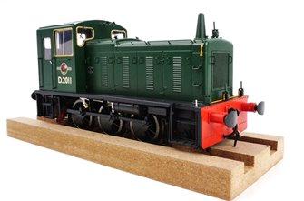Class 03 - D2011 BR Green Diesel Shunter (Conical exhaust)