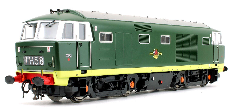 Class 35 Hymek BR Plain Green Diesel Locomotive