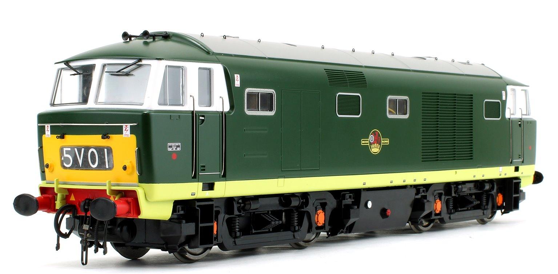Class 35 Hymek BR Green (Small Yellow Panel) Diesel Locomotive