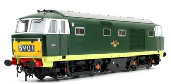Class 35 Hymek BR Green (Small Yellow Panel) Diesel Locomotive
