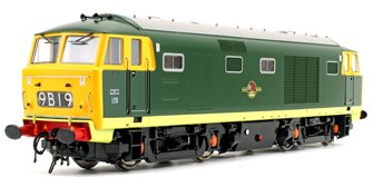 Class 35 Hymek BR Green (Full Yellow Panel) Diesel Locomotive