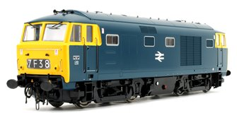 Class 35 Hymek BR Blue (Full Yellow Panel) Diesel Locomotive