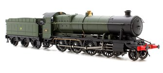 47XX Class Night Owl 2-8-0 - GWR 4704 in green with monogram logo