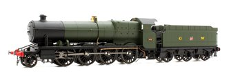 47XX Class Night Owl 2-8-0 Locomotive No.4707 in Green with GW Lettering