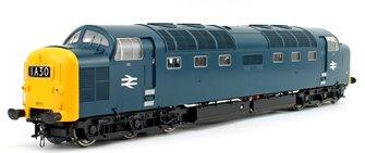 Class 55 Deltic (Un-Numbered) BR Blue Full Yellow Ends Diesel Locomotive
