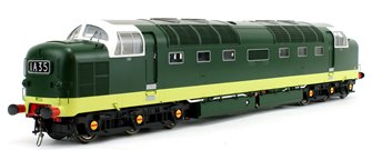 Class 55 Deltic (Un-Numbered) BR Green (No Yellow Ends) Diesel Locomotive
