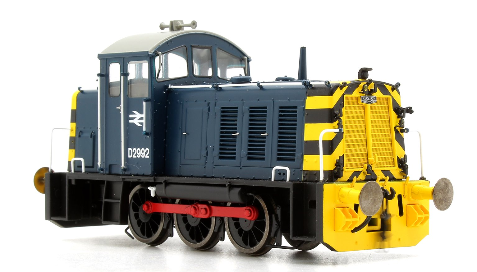 Class 07 (V1) D2992 Br Blues with 'Wasp' Stripes