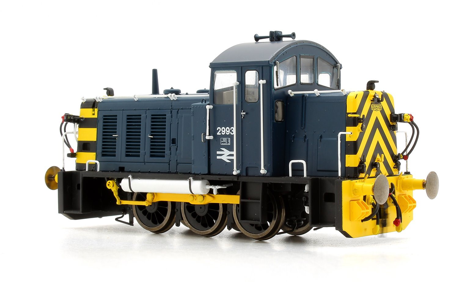 Class 07 (V2) 2993 Br Blue with 'Wasp' Stripes