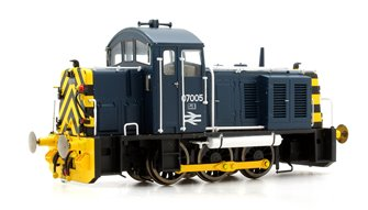 Class 07 (V2) 07005 Br Blue with 'Wasp' Stripes