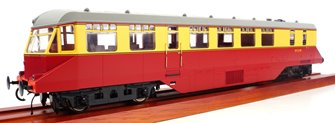 GWR AEC 'Razor Edge' Railcar  BR crimson/cream (Dark Grey Roof) No.W21W