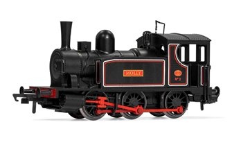'Molly' Blackberry Black 0-6-0 Steam Tank Locomotive No.2