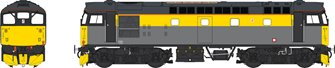 Class 26 BR Civil Engineers 'Dutch' grey/yellow unnumbered
