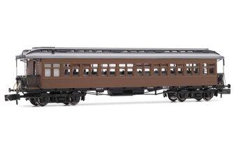 Arnold (N 1:160) Costa coach, 3rd class, RENFE CC-2301, lantern roof