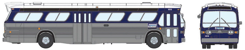 New Look Bus (Standard) - Connecticut Transit #1632