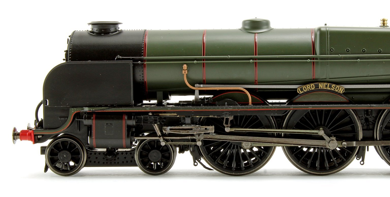'Lord Nelson' BR Green Lord Nelson Class 4-6-0 Steam Locomotive No.30850 DCC with TTS Sound!