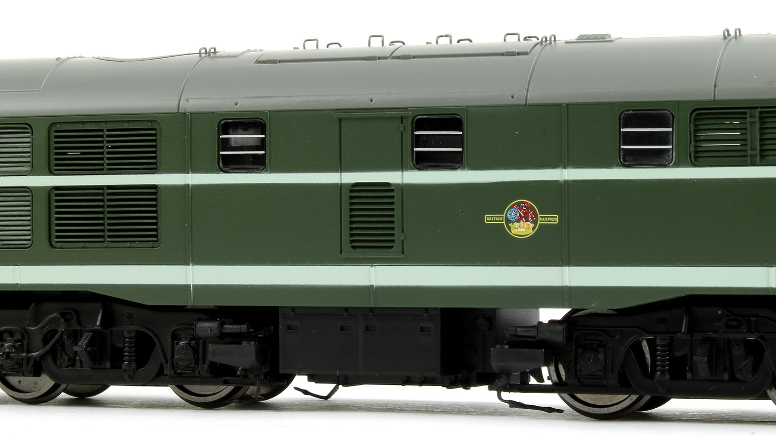 Class 31 - D5509 BR Green AIA-AIA Diesel Electric Locomotive
