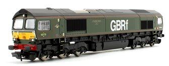 Class 66 779 'Evening Star' GBRf BR Green Co-Co Diesel Locomotive