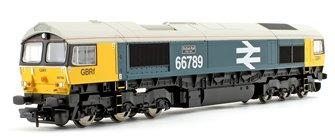 Class 66 789 'British Rail 1948-1997' GBRf BR Blue Large Logo Diesel Locomotive