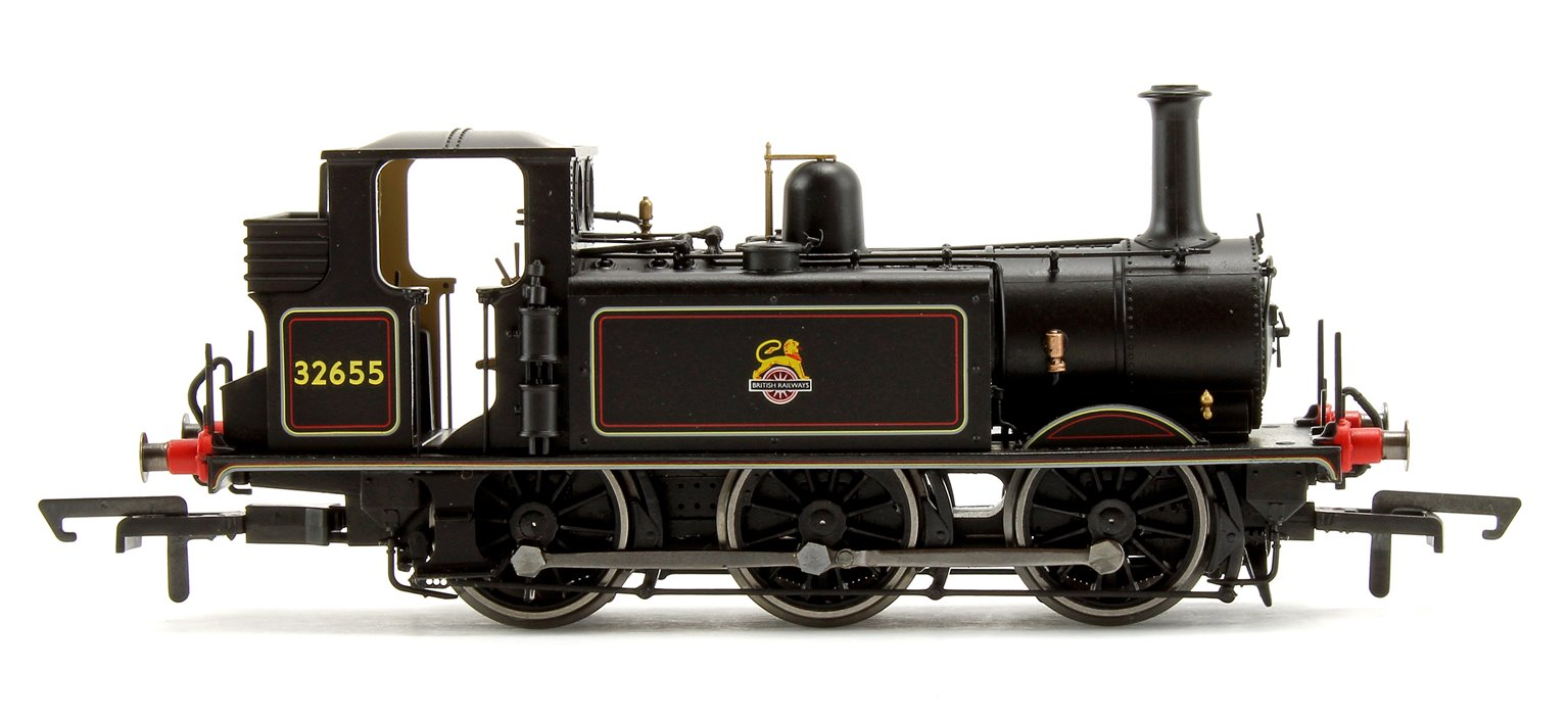 BR Black 0-6-0 Terrier Locomotive No.32655