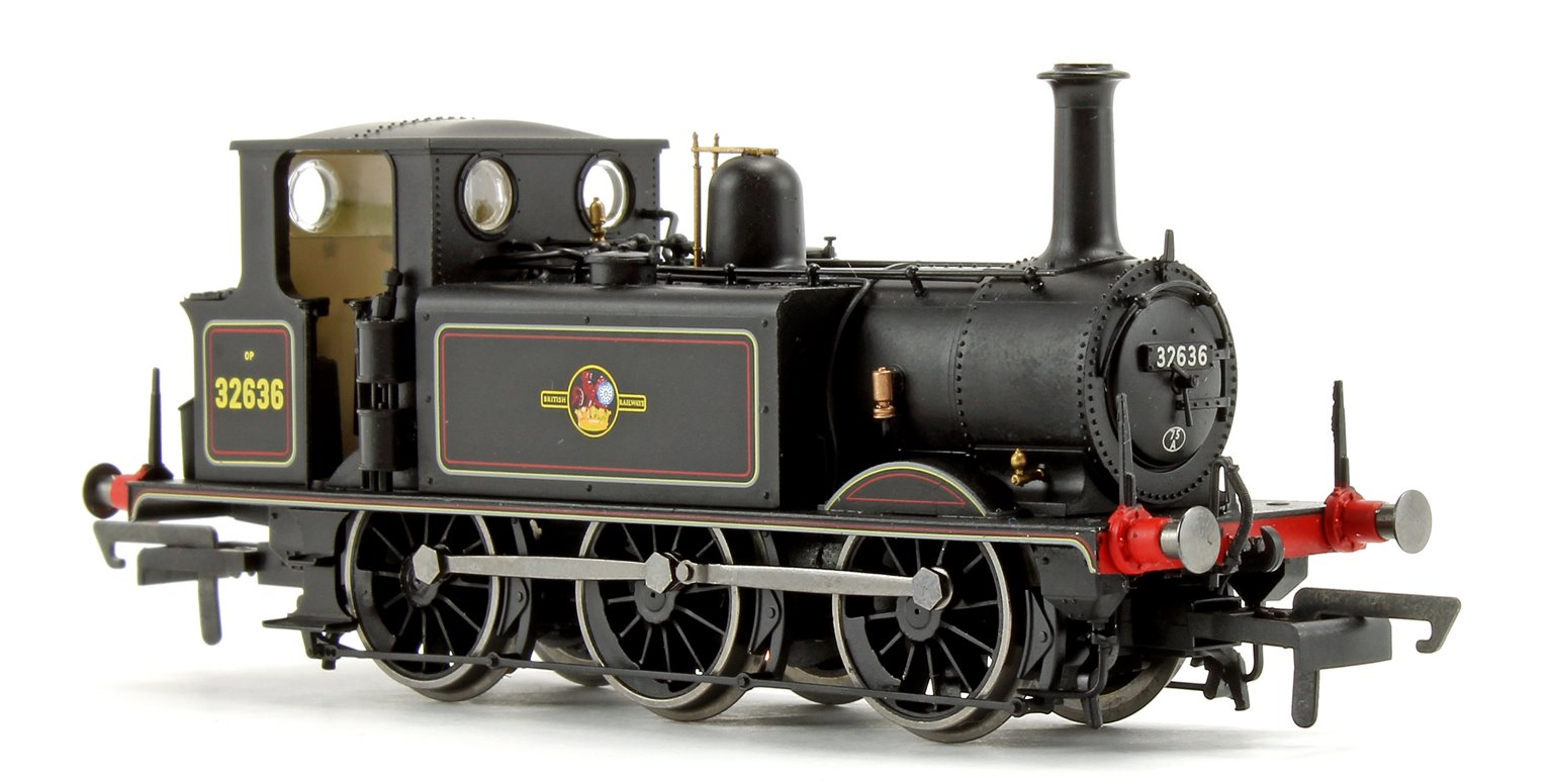 BR Black 0-6-0 Terrier Locomotive No.32636