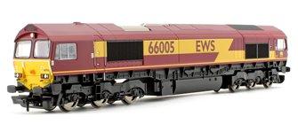 Class 66 005 EWS Co-Co Diesel Locomotive