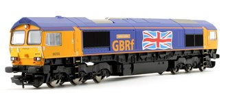 Class 66 705 'Golden Jubilee' GBRf with Union Jack Co-Co Diesel Locomotive