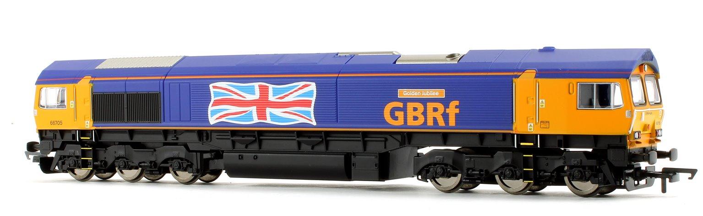 Class 66 705 'Golden Jubilee' GBRf with Union Jack Co-Co Diesel Locomotive
