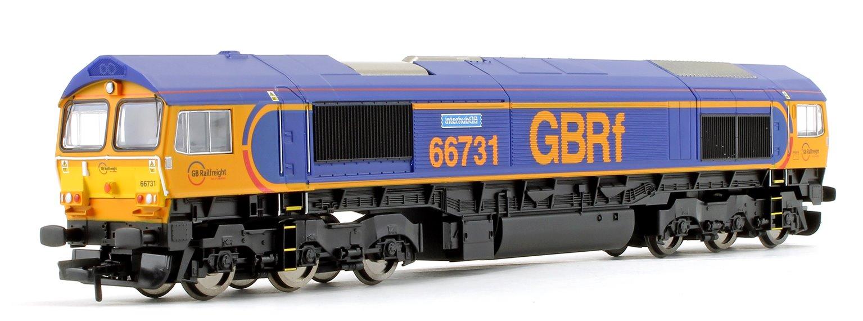 Class 66 731 'InterhubGB' GBRf Co-Co Diesel Locomotive