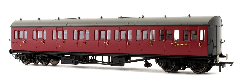 BR Collett 57' Bow Ended E131 Nine Compartment Composite (Left Hand) W6237W - Era 4