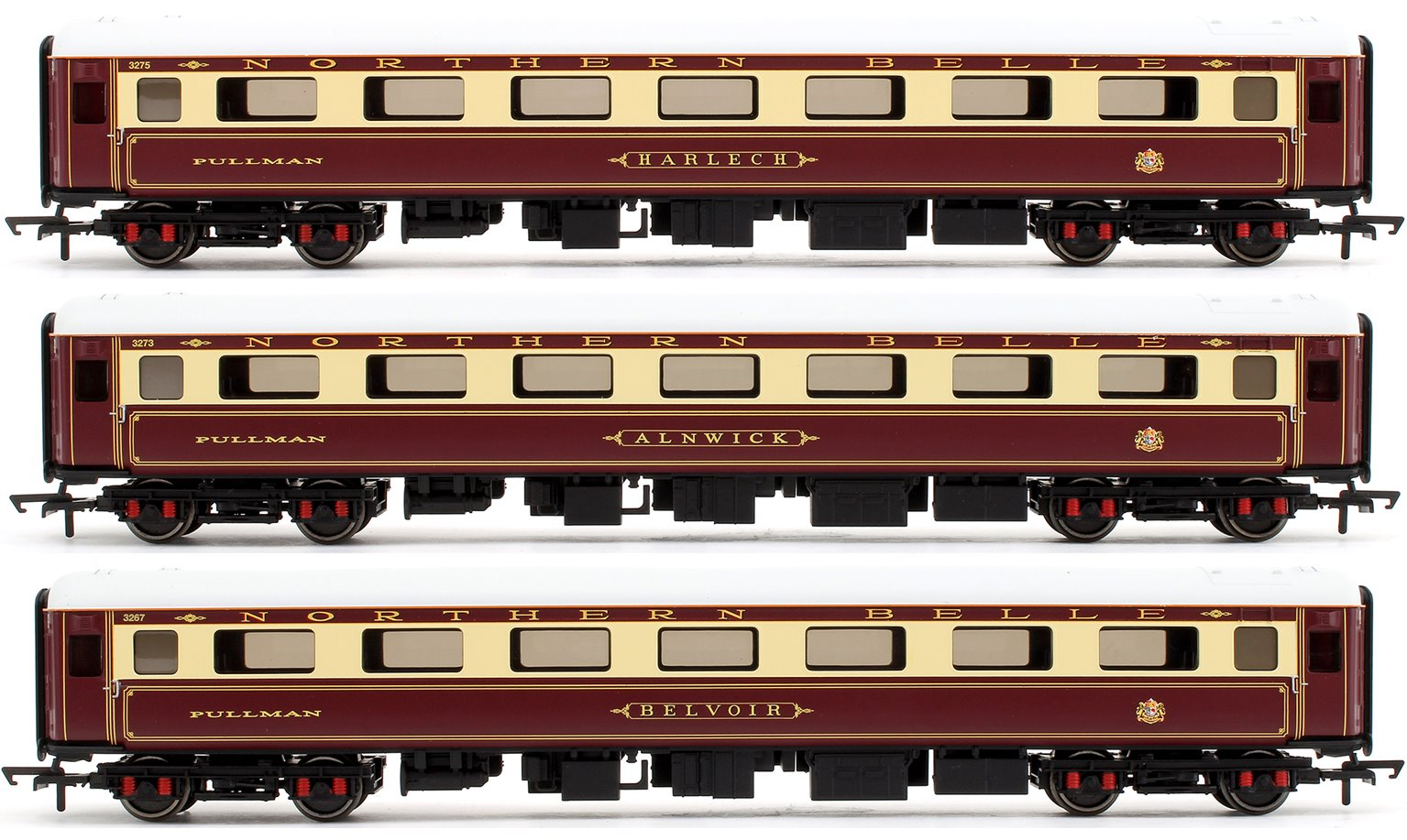 DRS 'Northern Belle' Mk2E Coach Pack