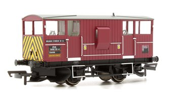 ZUA 'Shark' Ballast Plough Brake Van, EWS DB993902