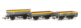 Rudd/Clam/Tope Departmental Wagon, three pack, British Rail