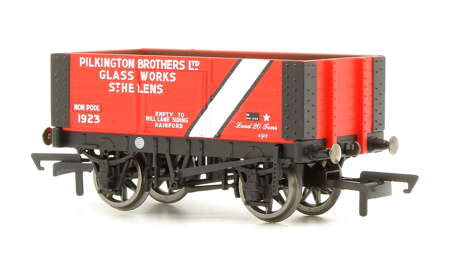 6 Plank Wagon, Pilkington Bros