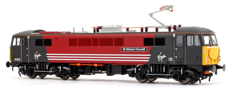 Virgin Trains Class 87 019 'Sir Winston Churchill' Bo-Bo Electric Locomotive