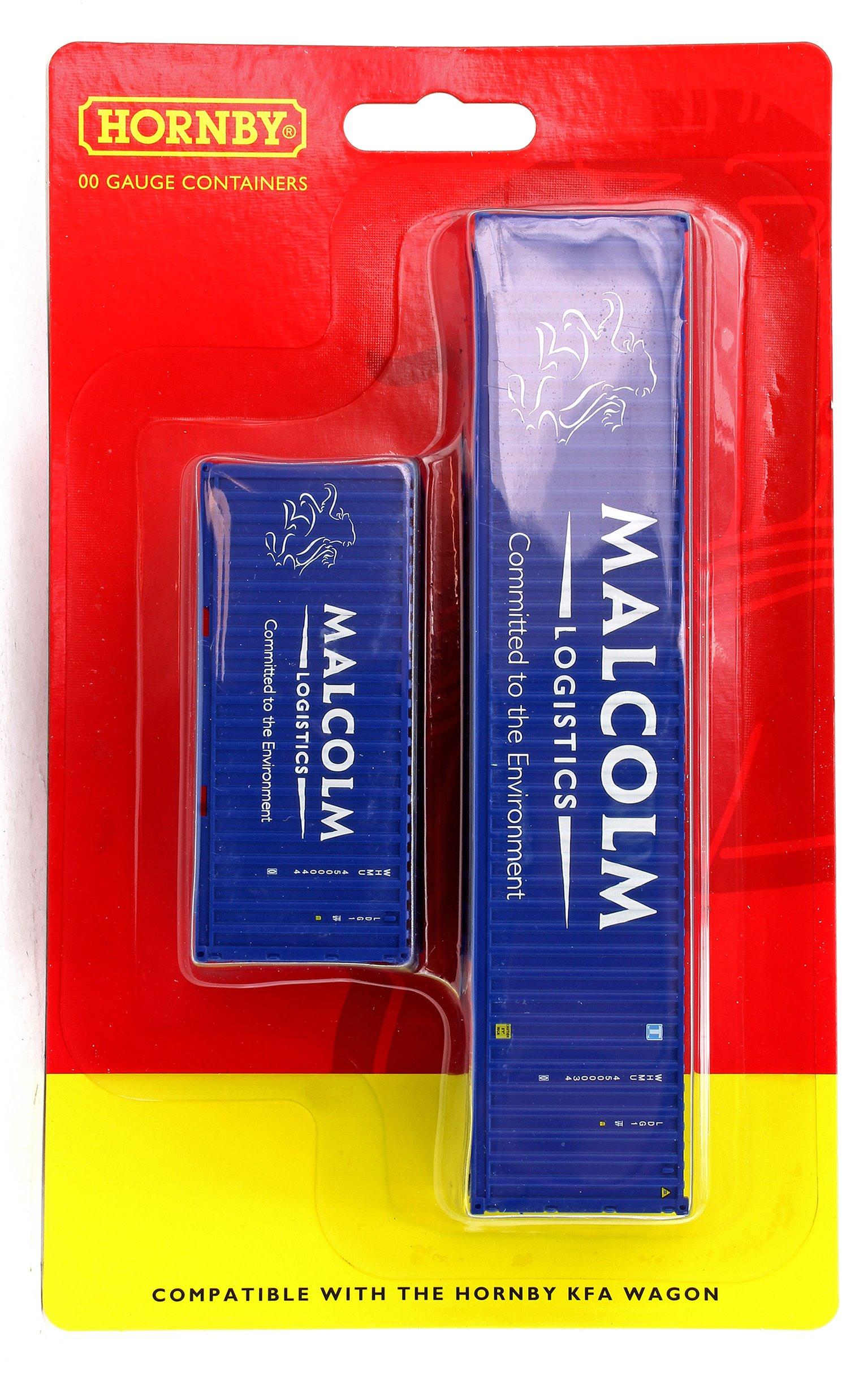 Malcolm Logistics 40ft & 20ft Containers 'WHMU4500034 & WHMU4500044'