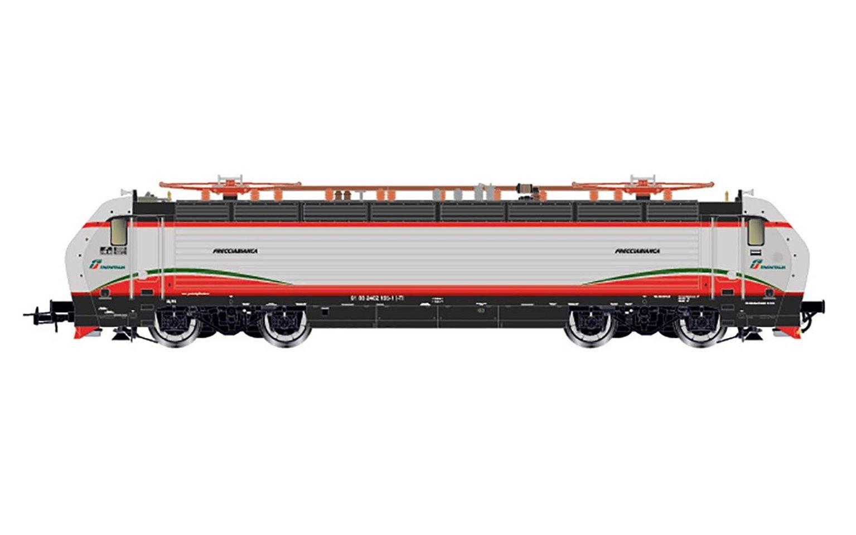 """Rivarossi (H0 1:87) FS, electric locomotive, E402B, E402 165 """"Frecciabianca"""", ep. VI"""
