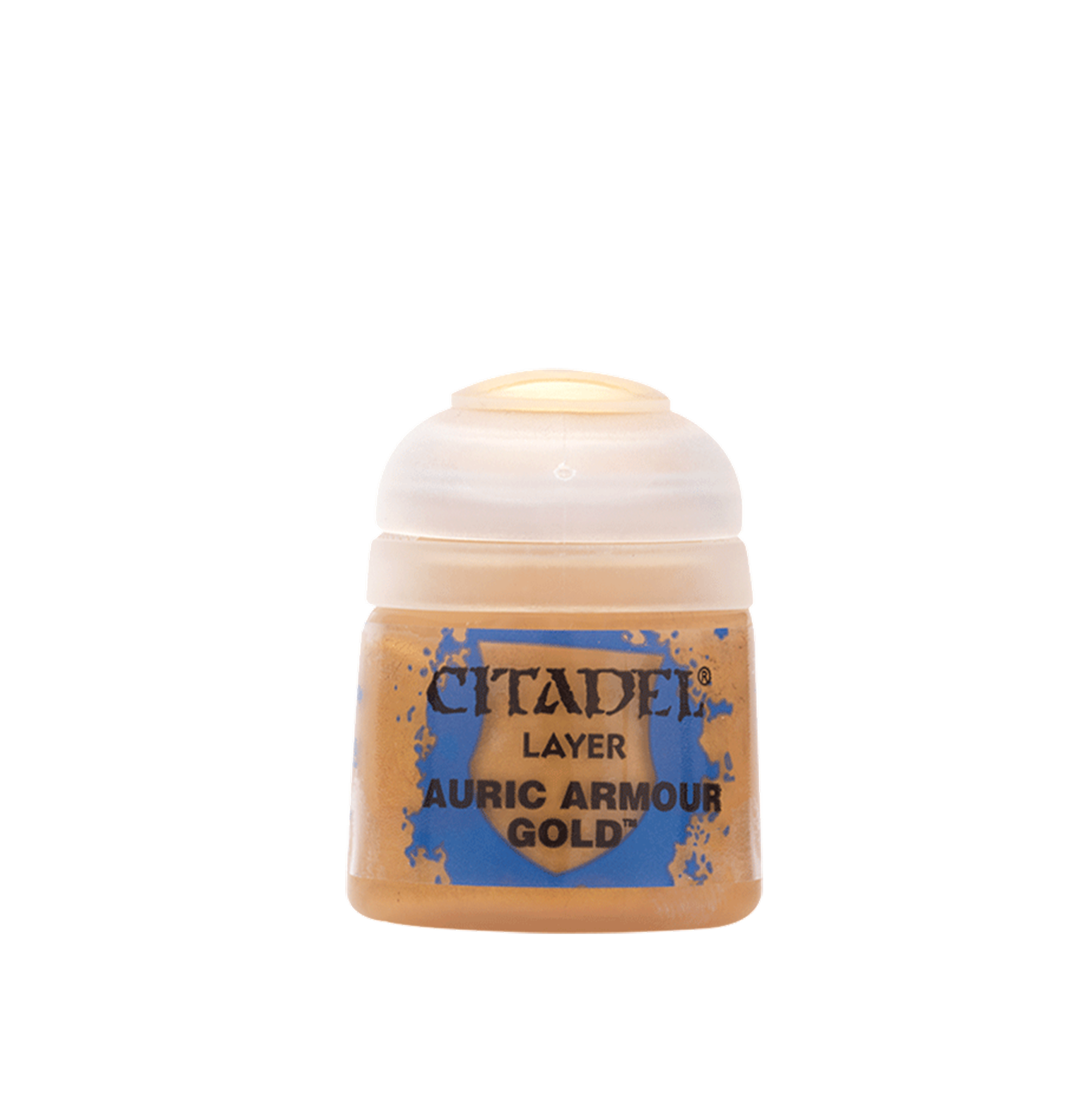 CITADEL LAYER Auric Armour Gold PAINT POT