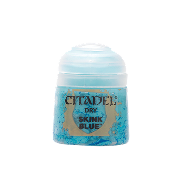 CITADEL DRY Skink Blue PAINT POT