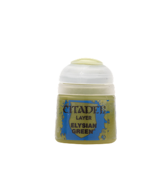 CITADEL LAYER Elysian Green PAINT POT