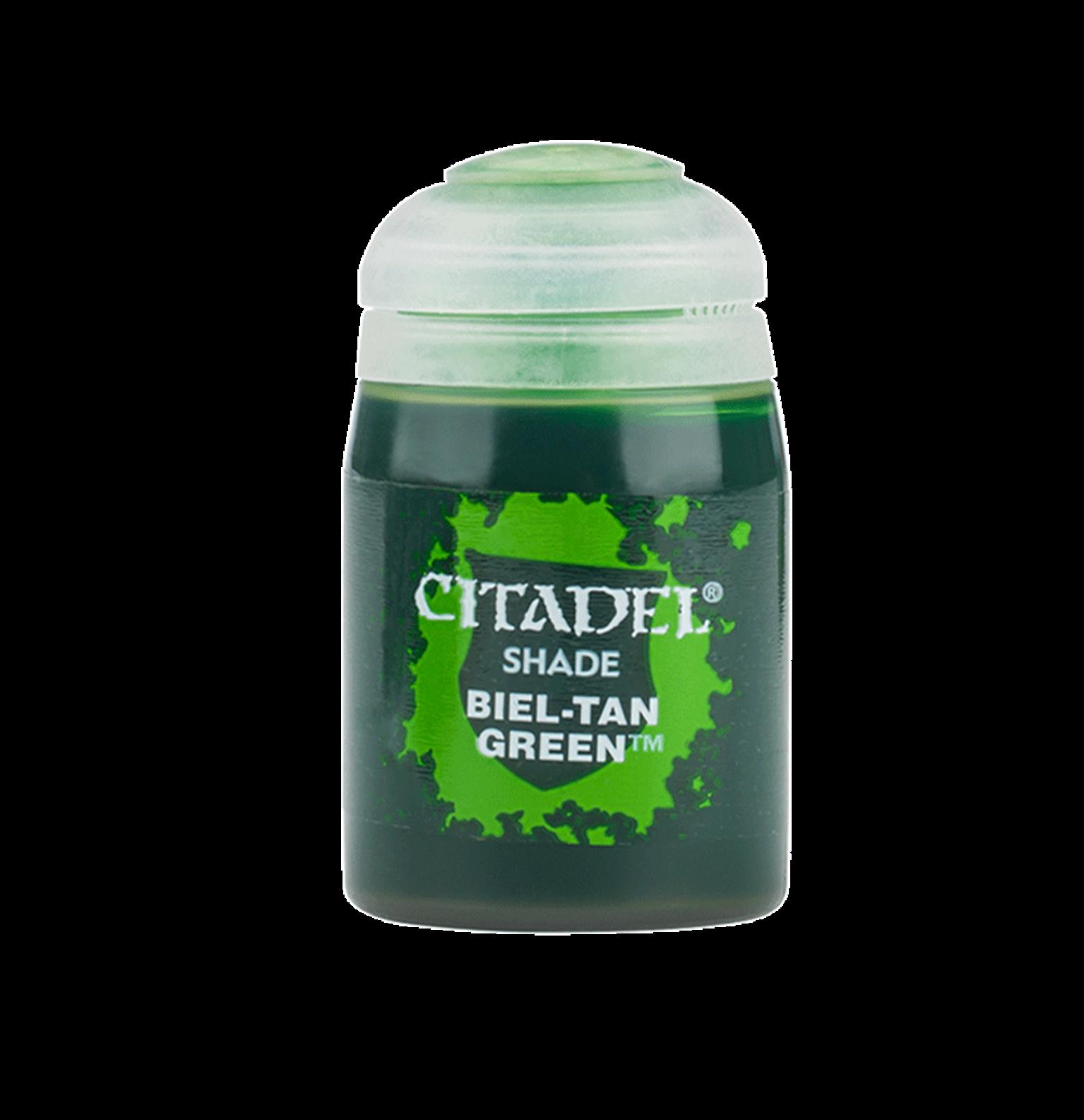 CITADEL SHADE Biel-Tan Green PAINT POT