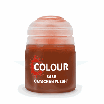 CITADEL BASE Catachan Fleshtone Paint pot