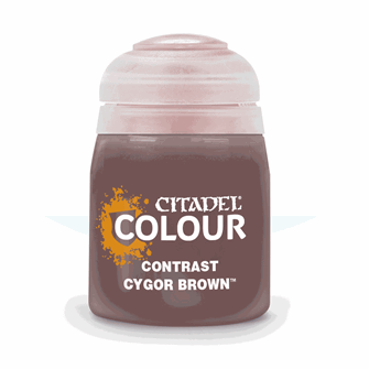 CITADEL CONTRAST Cygor Brown PAINT POT