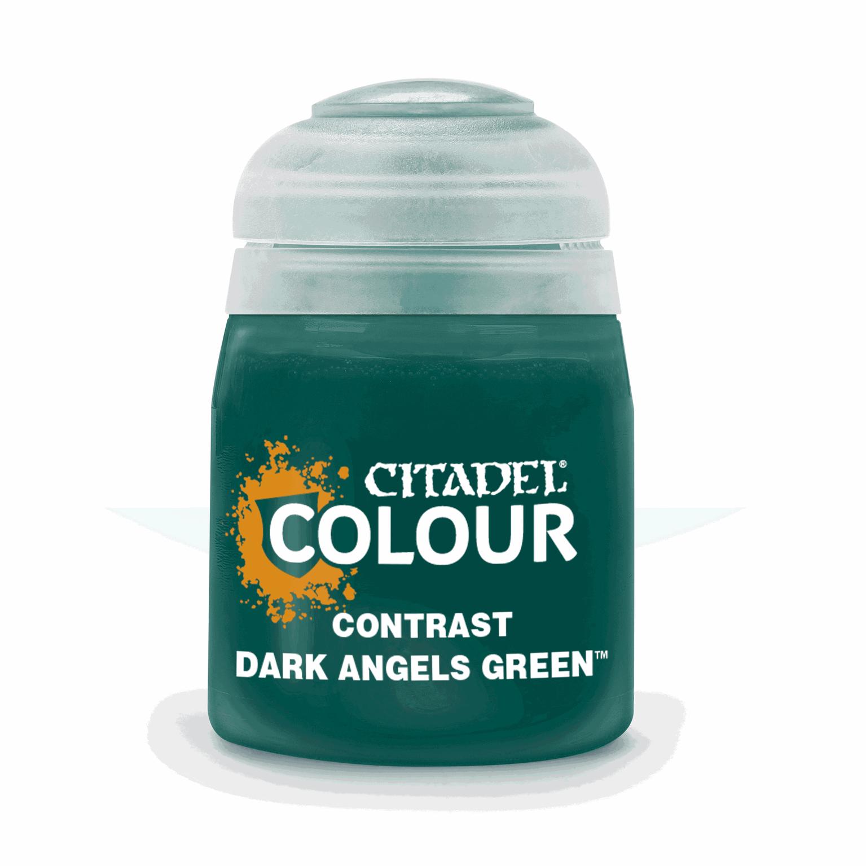 CITADEL CONTRAST Dark Angels Green PAINT POT