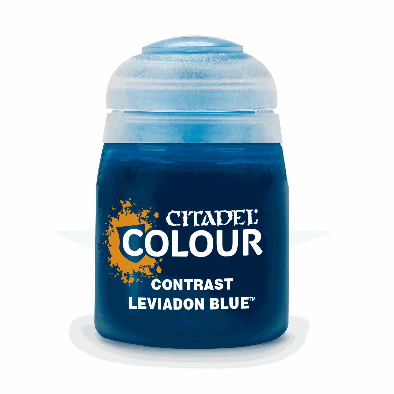CITADEL CONTRAST Leviadon Blue  PAINT POT