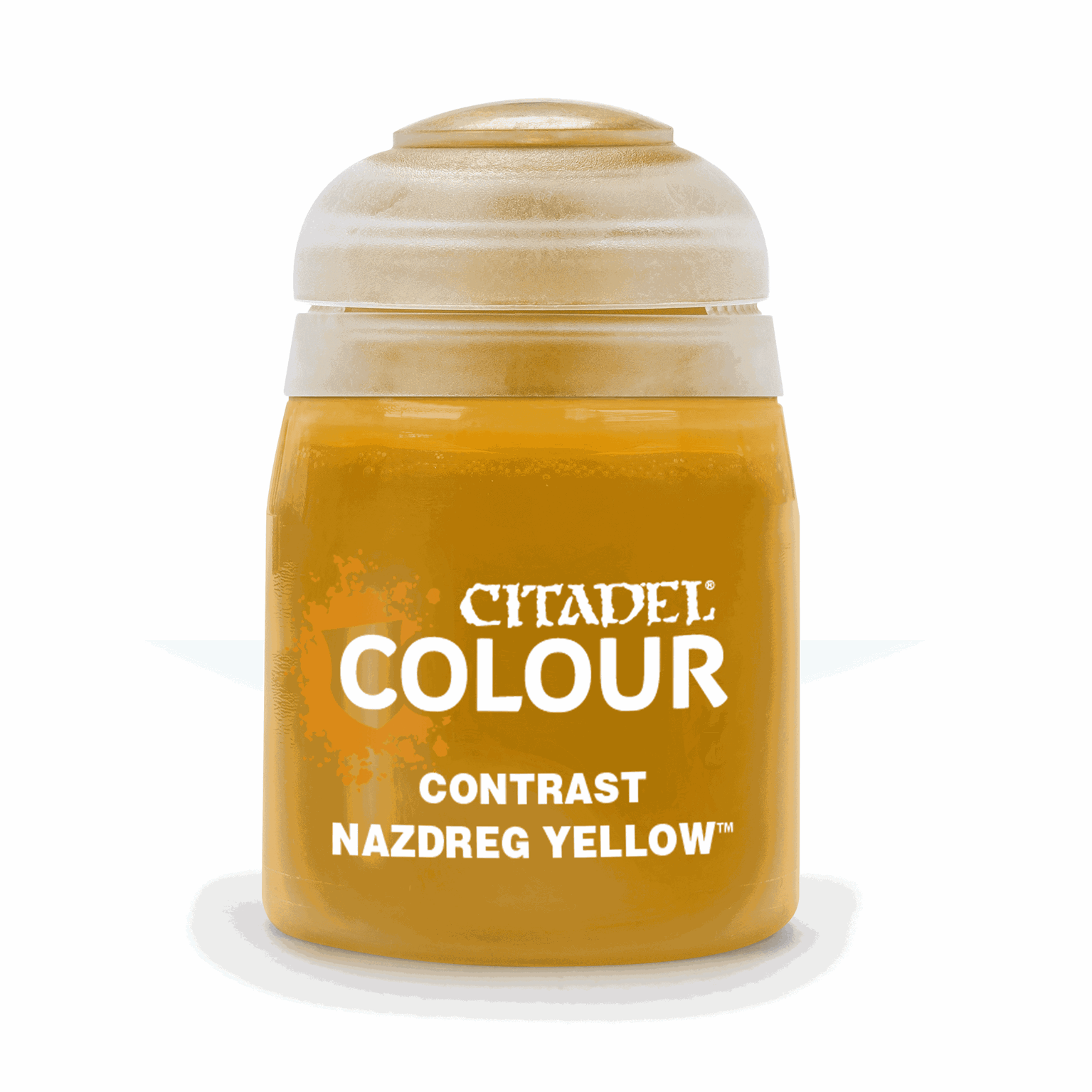 CITADEL CONTRAST Nazdreg Yellow PAINT POT