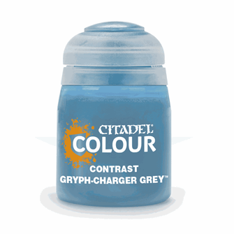 CITADEL CONTRAST Gryph-Charger Grey PAINT POT