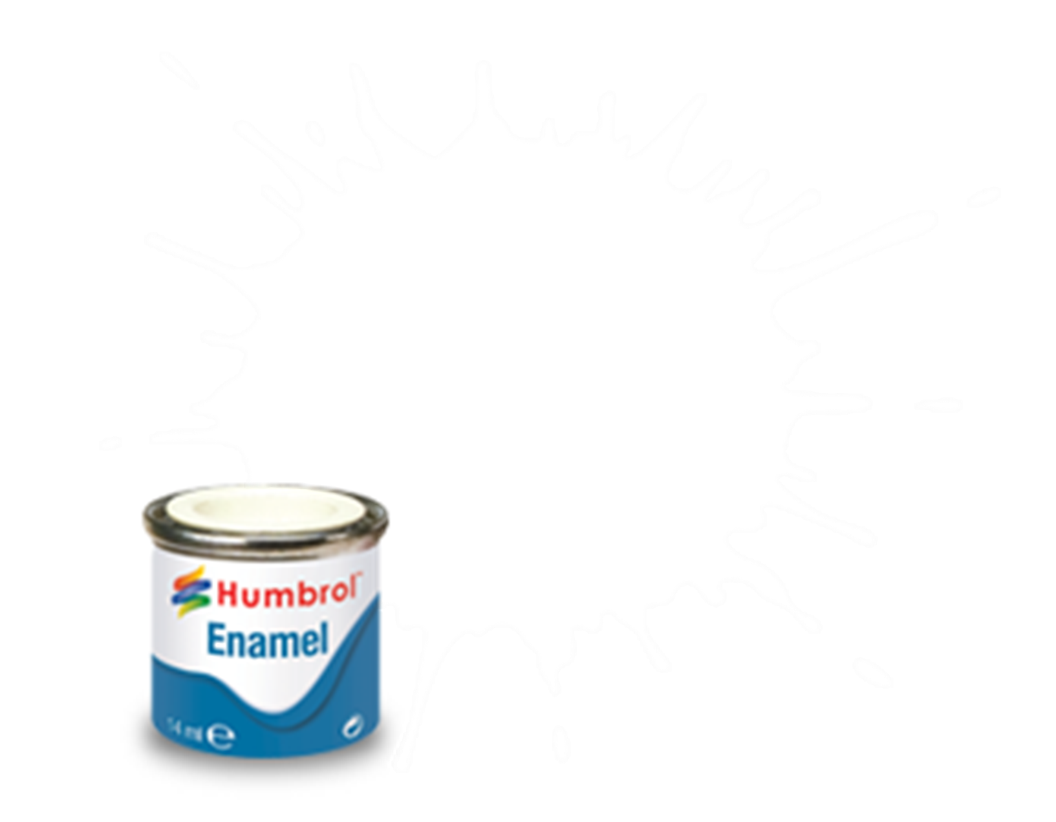 133 Brown Satin - 14ml Enamel Paint